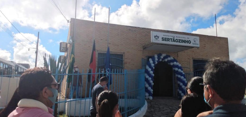 Abertura da festividade alusiva aos 27 anos de Emancipação Política do nosso município